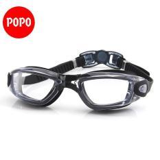 Kính bơi chống tia UV, chống lóa 1938 mắt kính trong suốt kiểu dáng thời trang cao cấp POPO Collection