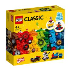 MYKINGDOM – Đồ Chơi Lắp Ráp LEGO CLASSIC Bộ Gạch Sáng Tạo Và Bánh Xe 11014 Cho Bé Trên 4 Tuổi (653 Pieces)