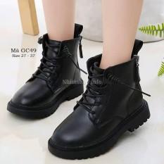 Giày bốt cổ cao cho bé trai bé gái 3 – 12 tuổi phong cách Hàn Quốc GC49