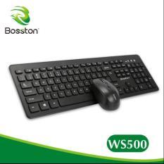 COMBO CHUỘT VÀ PHÍM KHÔNG DÂY BOSSTON WS500