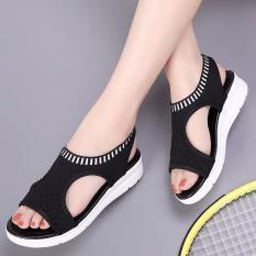 Giày sandanl bảng đan len cách điệu hàng cao cấp578