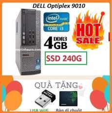 Thùng Dell optiplex 9010 Core i3 3220 / 4G / SSD 240G , Khuyến Mai USB wifi , Bàn di chuột – Bảo hành 02 Năm