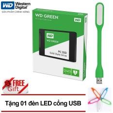 Ổ Cứng SSD WD Green 240GB 3D NAND – WDS240G2G0A – Hãng phân phối chính thức + Tặng đèn Led USB