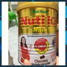 Sữa bột Nuti IQ Mum Gold hương Chocolate Lon 400g (dành cho bà bầu) của Nutifood