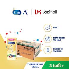 [FREESHIP] Thùng 24 hộp sữa nước Enfagrow 4 vị Vani 180ml cho trẻ trên 2 tuổi – Giới hạn 5 sản phẩm/khách hàng