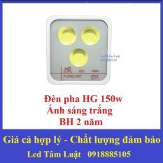 Đèn Pha Led HG2 150W 3 Mắt Tròn (Ánh Sáng Trắng) BH 18 Tháng