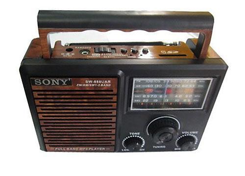 Loa Đài FM SW-999UAR, Đài FM SW-999UAR, Thiết Kế Nhỏ Gọn, Loa Đài, Loa Đài Có Thẻ Nhớ, Loa SW-999UAR