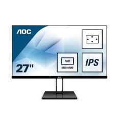 Màn hình AOC 27V2Q/74 (27 inch/ FHD/IPS/75Hz/5ms/250 nits/HDMI+DP)