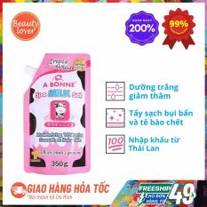 Muối Tắm Sữa Bò Thái Lan A Bonne Dưỡng Trắng 350g – Beauty Lover Tẩy Tế Bào Chết Body, Dưỡng Trắng Da
