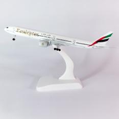 Mô hình máy bay 777 kim loại B777 dòng Boeing 777-31H(ER) ~16cm món quà tặng mô hình die-cast trưng bày phù hợp với bàn làm việc, kệ ti-vi, giá sách