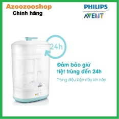 [Nhập ELMAY21 giảm 10% tối đa 200k đơn từ 99k]Máy tiệt trùng hơi nước 2 trong 1 Philips Avent SCF922/03 hàng chính hãng bảo hành 2 năm trên toàn quốc