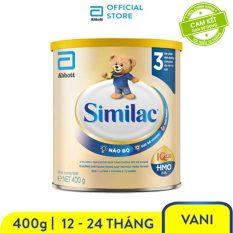 [GIẢM 40K CHO ĐƠN 499K]Sữa bột Similac Eye-Q 3 HMO 400g Gold Label trẻ từ 1 – 2 tuổi bổ sung dinh dưỡng phát triển trí não và thị giác