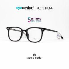 Gọng kính cận nam nữ chính hãng ZAC & CODY B28 kim loại chống gỉ cao cấp nhập khẩu by Eye Center Vietnam