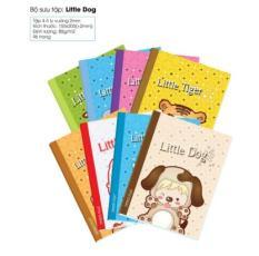 Bộ 10 cuốn tập 96 trang Happy Dog MH607