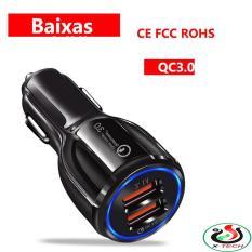 Sạc Nhanh Ô Tô 2 cổng USB 3.1A Cốc Sạc Nhanh Quick Chagre 3.0 Xe Hơi BKS-2U Xịn Bảo Hành 12 Tháng