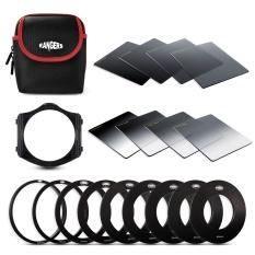 OneTwoFit kính lọc filter, Kính lọc Lens 8pcs Bộ lọc mật độ trung tính ND tốt nghiệp đầy đủ dành cho Cokin P Series RA109