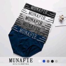 Combo 4 quần lót nam chéo dệt kim cao cấp MUNA FIE