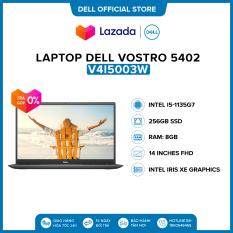 Laptop Dell Vostro 5402 14 inches FHD (Intel / i5-1135G7 / 8GB / 256GB / Finger Print / Win 10 Home SL) l Gray l V4I5003W l HÀNG CHÍNH HÃNG