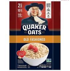 Yến Mạch Quaker Oats Loại Cán Dẹt Thùng 4,52Kg – Nhập Khẩu Từ Mỹ