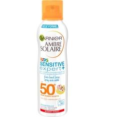 Xịt chống nắng chống cát cho trẻ em Garnier Ambre Solaire Kids Sensitive Expert+ SPF50+ 200ml – Đức