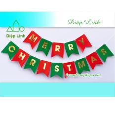 Dây Treo Trang Trí Noel Giáng Sinh Merry Christmas