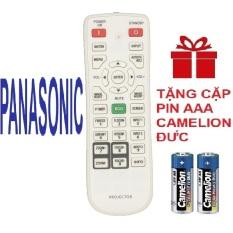 Remote điều khiển máy chiếu PANASONIC mẫu 3 projector (Hàng xịn – tặng pin)