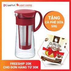 [TẶNG CÀ PHÊ SỮA 50G] Bình pha trà cà phê Cold Brew Hario 600ml – LIGHT COFFEE