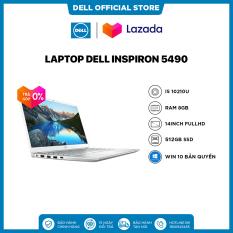 [TRẢ GÓP 0%]Laptop Dell Inspiron 5490 Core i5 10210U 14inch FullHD Ram 8GB 512GB SSD Card Màn Hình NVIDIA MX230 2G Win 10 Bản Quyền Silver