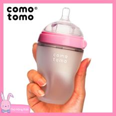 Bình sữa cho bé Comotomo chính hãng 150ml / 250ml siêu mềm – Thỏ Hồng Kids