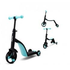 Siêu xe Nadle 3 trong 1 vừa làm xe đạp, xe chòi chân, xe scooter Joovy TF3 cho bé từ 2 tuổi trở lên