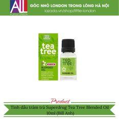 Tinh dầu tràm trà Superdrug Tea Tree Blended Oil – 10ml (Bill Anh)