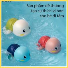 Đồ chơi bồn tắm Rùa con biết bơi đồ chơi lên dây cót