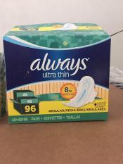 : Băng vệ sinh Always Ultra Thin 96 miếng