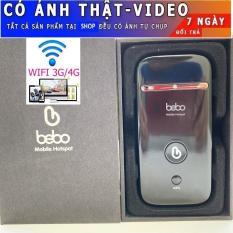 Bộ Phát Wifi 3G tốc độ 21.6Mbps ZTE MD65 BEBO – Phiên bản mới nhất – Tặng siêu sim 4G