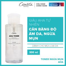 Nước hoa hồng tr.ị m.ụn Cénota Aha Toner 300ml