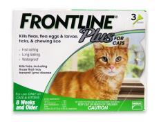 Miễn phí HCM 129k -(01 ống) Thuốc Nhỏ gáy trị ve rận FRONTLINE FLUS Nhập từ Pháp, Thuốc trị ghẻ chó mèo, chấy rận trị bệnh demodex