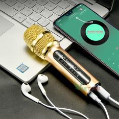Micro C7 – Micro C11- Micro C28 ( Loại 1, Đủ Phụ Kiện) , Thu Âm, Hát Karaoke, Livestream trên điện thoại 3 in 1 màu ngẫu nhiên ( Hàng chất lượng cao ), Mic hát karaoke – Bh 3 Tháng