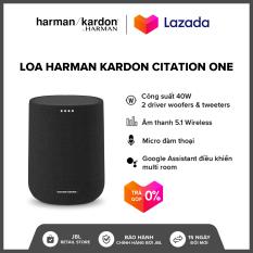 [TRẢ GÓP 0%] Loa Harman Kardon Citation One l Công suất 40W l Kết nối 2 loa cho âm thanh nổi l 2 Driver l Hỗ trợ Google Assistant l HÀNG CHÍNH HÃNG