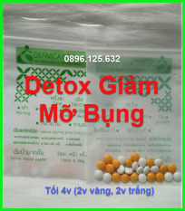 Detox Giảm Mỡ Bụng 1 tuần Thái Lan