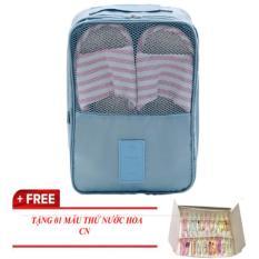 Túi Đựng Giày 3 ngăn dạng Túi Du Lịch tiện dụng mà nhỏ gọn cho bạn đi chơi KDR-NC055 Kodoros – TẶNG NƯỚC HOA