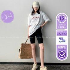 Quần legging lửng Choobe cạp chun vải cao cấp thun ngố nữ co giãn tốt dáng ôm – Q29