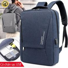 Balo laptop chống trộm có mã khóa – Phản quang – Có khe USB và lỗ tai nghe SS09