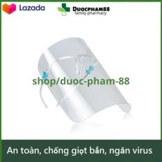 Kính chống giọt bắn trong suốt bảo vệ mặt phòng tránh virus Corona