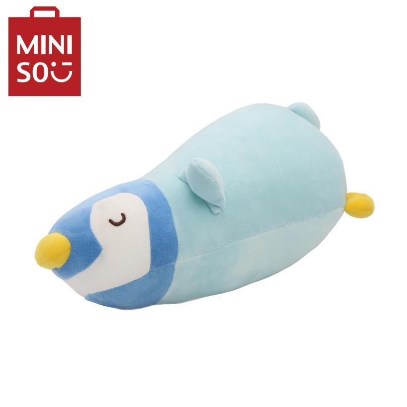 Chim cánh cụt nhồi bông Miniso (Xanh dương)