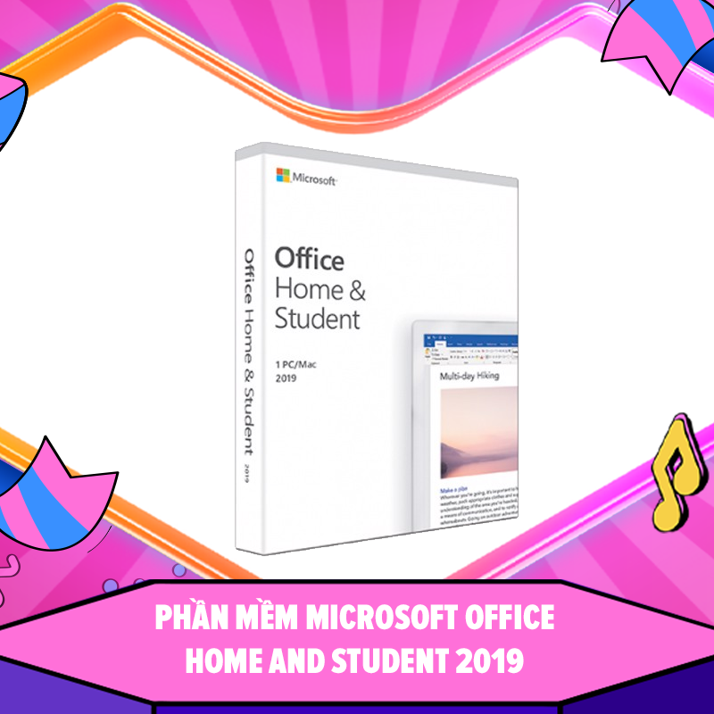 Phần mềm Microsoft Office Home and Student 2019