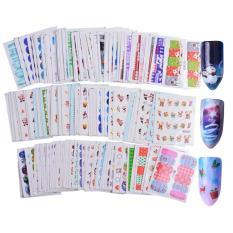 Set 5 hình xăm nước (nail sticker) trang trí móng chủ đề Giáng Sinh