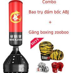 Combo bao cát đấm bốc boxing tự đứng Aibeijiansport® chính hãn.g + găng tay đấm bốc ZooBoo cao cấp đủ màu full size – Bảo hành 12 tháng