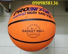 Bóng rổ số 5 tặng kèm túi đựng và kim bơm, bóng rổ s5 bền đẹp