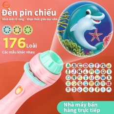 ĐỒ CHƠI ! ĐÈN PIN CHIẾU HÌNH BẢN NÂNG CẤP THẾ HỆ 3 CHO BÉ (SP001738 ) Shop Yến Shop Kidss