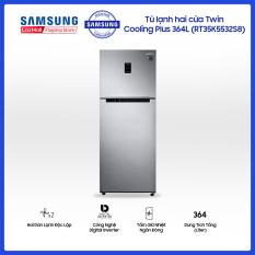 Tủ lạnh hai cửa Twin Cooling Plus Samsung 364L công nghệ Digital Inverter tiết kiệm điện năng – RT35K5532S8